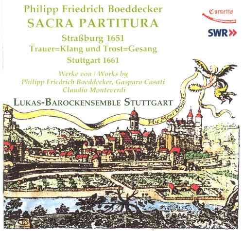 Philipp Friedrich Boeddecker: Sacra Partitura 1651